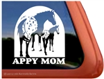 Appaloosa Mare & Foal Window Decal