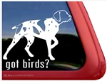 German Shorthaired Pointer Window Decal