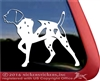 Custom German Shorthaired Pointer Dog Car Truck RV Window Decal Sticker