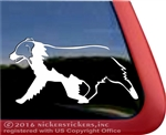 Custom Trotting Australian Shepherd Aussie Dog Car Truck RV Window Decal