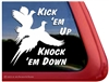 Pheasant Bird Dog Gun Dog Window Decal Sticker