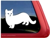 Custom Munchkin Cat Car Truck RV Window Decal Sticker
