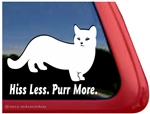 Munchkin Cat Window Decal