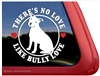 Pit Bull Terrier Window Decal