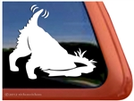Custom Earthdog Terrier Dog Window Decal