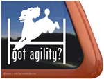 Got Agility? Poodle Dog Car Truck RV iPad Window Decal Sticker
