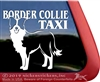 Dog Border Collie Dog Car Truck RV Window Decal Sticker