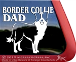 Border Collie Dog Car Truck RV Window Decal Sticker