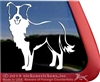 Custom Border Collie Dog Window Decal