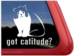 Exotic Shorthair Cat Window Decal