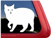 Custom Manx Cat Car Truck RV Window Decal Sticker