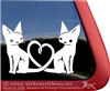 Custom Love Kitty Window Decal