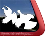 Grouse Bird Dog Gun Dog Truck Car RV Window Decal Sticker