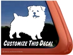 Custom Norfolk Terrier Dog Car Truck RV Yeti Laptop iPad Window Decal