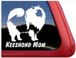 Keeshond vinyl dog window auto car truck rv laptop ipad sticker decal