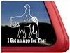 Appaloosa Western Pleasure Window Decal