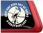 Macaw Window Decal
