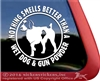 German Wirehair Pointer Window Decal