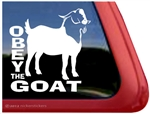 Boer Goat Window Decal