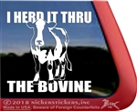 Holstein Cow Window Decal