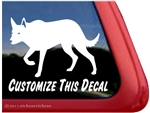 Custom Australian Kelpie Dog Car Truck RV Window Decal Sticker