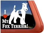 Fox Terrier Window Decal