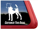 Smooth Fox Terrier Window Decal