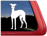 Italian Greyhound Window Decal