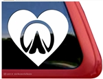 Custom Horse Hoof Horse Trailer Car Truck RV Window Decal Sticker