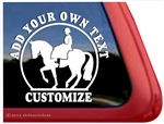 Sidesaddle Horse Trailer Window Truck Car RV Auto iPad Laptop Decal Sticker