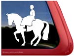 Custom Sidesaddle Horse Trailer Window Truck RV iPad Laptop Decal Sticker