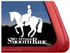 Side Saddle Horse Trailer Window Car Auto Truck RV iPad Laptop Decal Sticker