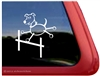Stick Dog Window Decal