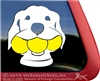 Custom Retriever Dog Window Decal