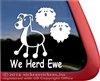 Herding Aussie Australian Shepherd Stick Dog Car Truck RV Window Decal Sticker