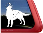 English Setter Window Decal