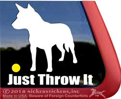 Australian Cattle Dog Window Decal