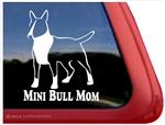 Mini Bull Terrier Window Decal