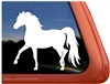 Miniature Horse  Window Decal