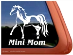 Miniature Pinto Horse Window Decal