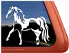 Miniature Pinto Window Decal
