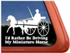 Miniature Driving Window Decal