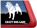 Shar-Pei Window Decal