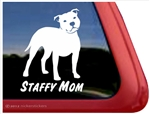 Staffordshire Terrier Window Decal
