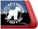 Wheaten Terrier Dog Car Truck RV Window Decal Sticker