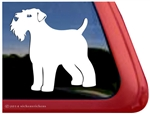 Custom Wheaten Terrier Dog Car Truck RV Window Decal Sticker