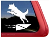 Dock Dog Window Decal