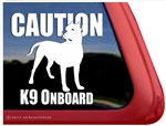 Dogo Argentino Window Decal