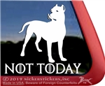 Dogo Dog Dogo Argentino Dog Car Truck RV Window Decal Sticker