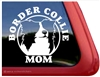 Border Collie Mom Car Truck RV Window Decal Sticker